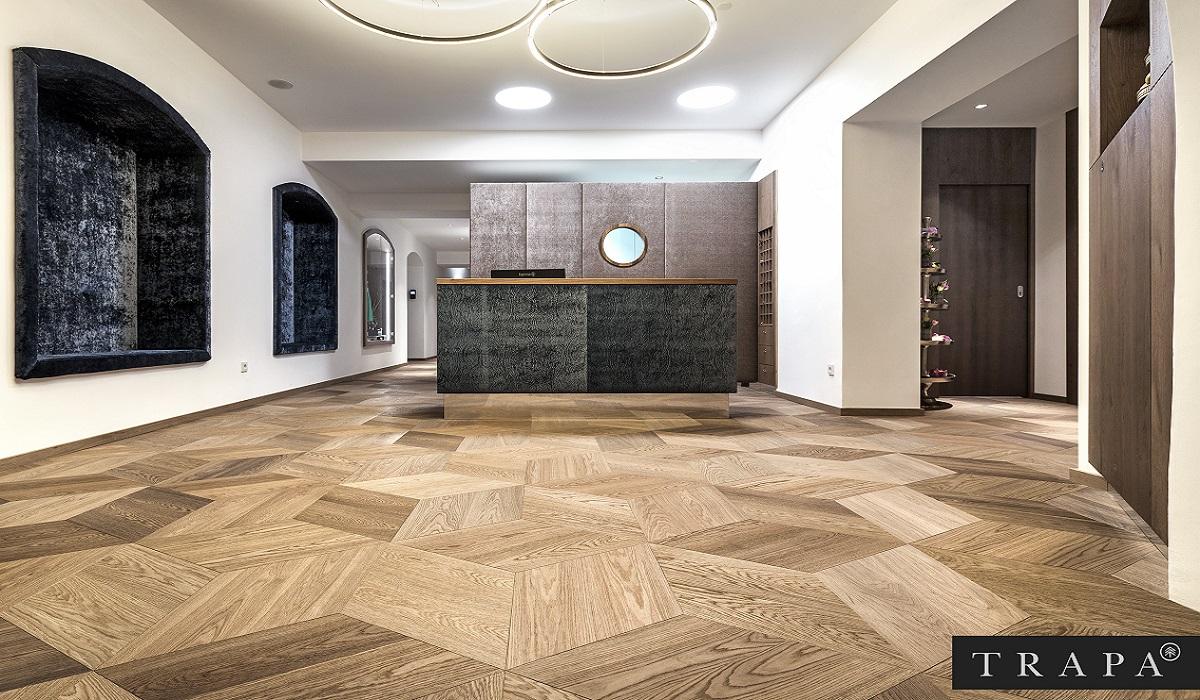 Slider_Produkte_Parkett_Trapa_Tafelboden_Raute-Moohreiche_naturell-Arezzo_001